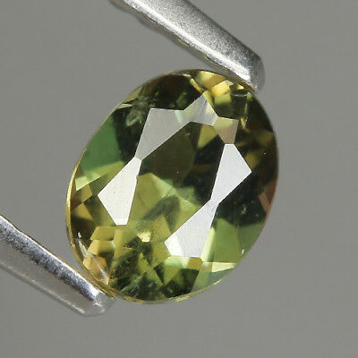 0.54 Ct Natural Unheated Greenish Yellow KORNERUPINE Oval Gem @ See Video !!