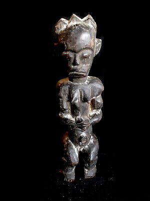 Fine wooden clan figure figure from Rep.Congo Africa