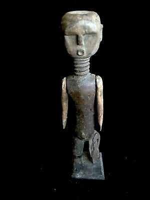 ancestor figure with movable arms on stand CONGO (?) Africa