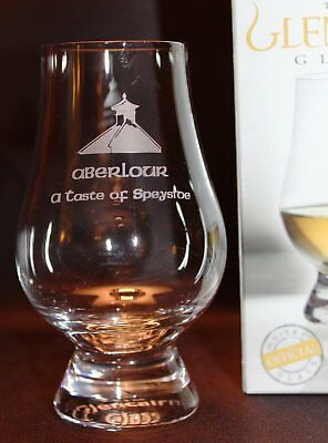Aberlour Pagoda Top Glencairn Single Malt Scotch Whisky Tasting Glass
