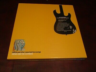 Eric Clapton Derek & Dominos Studio Albums & Live + Blues+ Slowhand 5 Box Sets