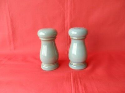 Denby Regency green salt and pepper. Genuine.