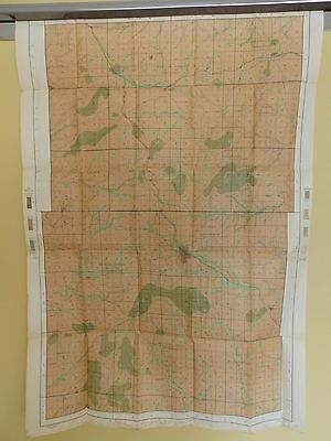 Antique 1902 Soil Map Howell County MO Pomona Pottersville  Approx 28 X 41