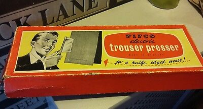 Vintage Trouser Press - Pifco Made In England - Original Box And Booklet