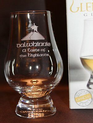 Dalwhinnie Pagoda Top Glencairn Scotch Whisky Tasting Glass