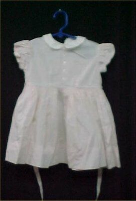 Vintage Antique Baby Doll Dress Little Girl Dress Classic 50s Era PINK WEE TOO