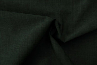 LUXURIOUS PURE WOOL TEAL BLUE DIAMOND WEAVE FINE TAILORING MADE IN ITALY