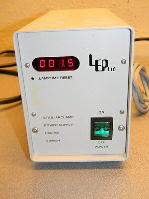 LEP HBO 100 Stab Arclamp Power Supply 990014