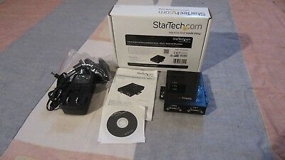 Startech | 2 Port Serial-To-IP Ethernet Device Server | RS232 | NETRS2322P