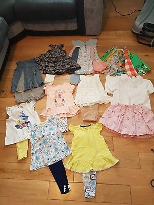 Girls summer bundle 18-24 / 1.5-2years Next/Sainsbury's and Mothercare