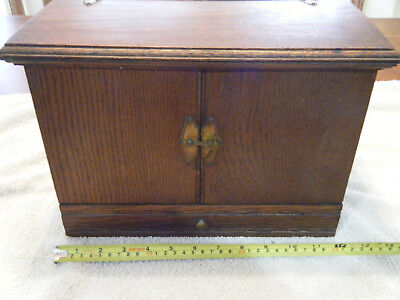 Antique apothecary drugist-chemist small cabinet