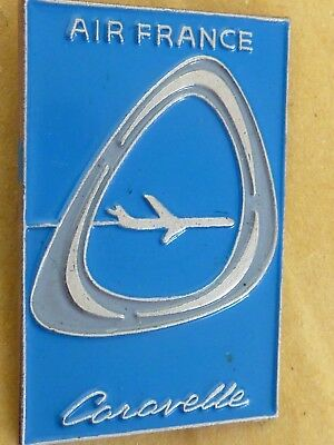 Pin's Pin Badge Avion Compagnie Air France  Caravelle
