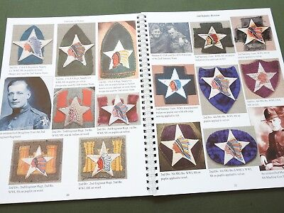 """""""emblems Of Honor Infantry Divisions"""" Volume 1 Us Ww1 Ww2 Patch Reference Book"""