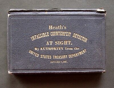 Heath's Infallible Counterfeit Detector, July of 1867.