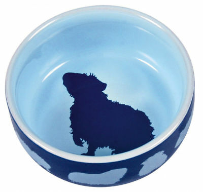 Trixie Ceramic Guinea Pig Water Food Bowl - assorted colours