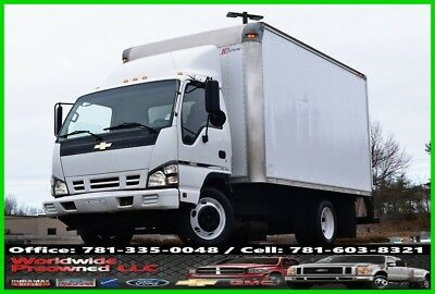 2006 Chevrolet W4500 Cab Over Tilt Box Truck Service 6.0L Vortec Gas Used