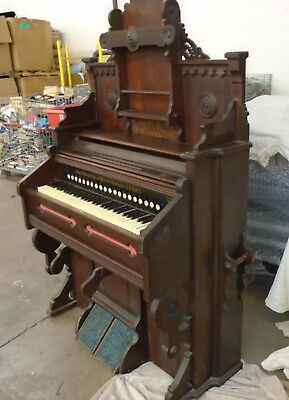 Antique 1860's Beatty's Best. Golden Tongue Organ. LOCAL PICKUP ONLY FPOR (430)