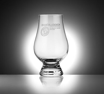 Bruichladdich Distillery Logo Glencairn Scotch Whisky Tasting Glass