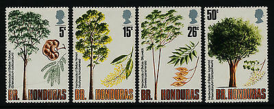 British Honduras 283-6 MNH Trees