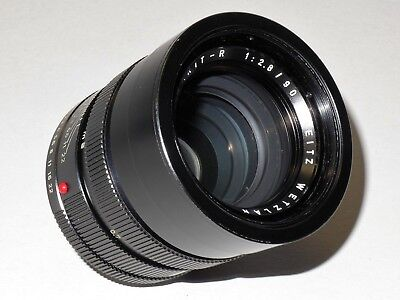 Leitz Leica ELMARIT - R  90 mm 1:2.8   3-Cam   Made in Germany!