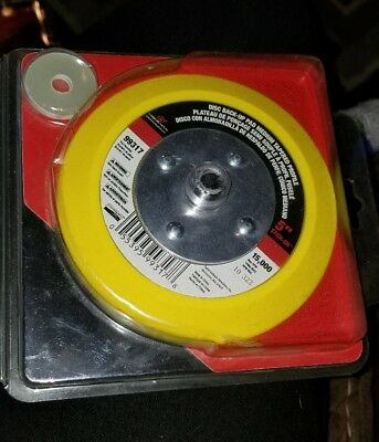 """Carborundum #99317  5"""" Stick-On Disc Back-Up Pad Closeout Inventory"""
