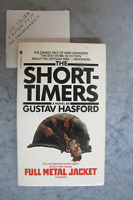 The Short-Timers - Gustav Hasford OzSellerFasterPost!