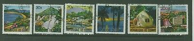 Republic of Guinee  1967 Landscapes 2nd set CTO