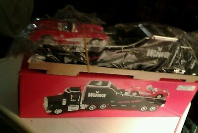 Taylor Trucks for Wawa CarCarrier Truck1/32 With Lights & removable Corvette car