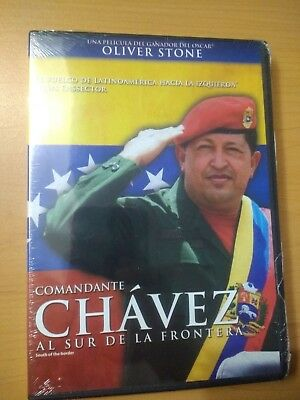 South Of The Border Dvd New Region 1&4 Hugo Chavez English + Subtitulos Español