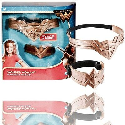 ☆Wonder Woman (Headdress & Armband)-D.c.-Mattel-2016-Boxed☆