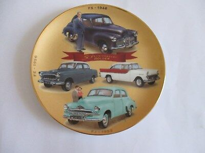 '1948-1960' THE GOLDEN YEARS  LEGENDARY HOLDEN COLLECTORS PLATE By ROBERT COADY