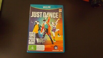 JUST DANCE 2017 NINTENDO Wii U ORIGINAL AUS PAL BRAND NEW