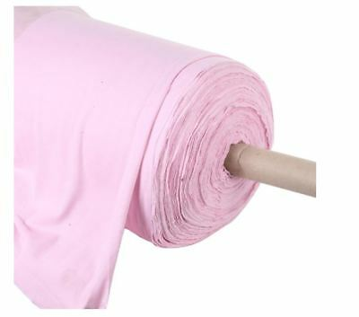 Dusty Pink Cotton Jersey Knit Fabric (150cm wide)