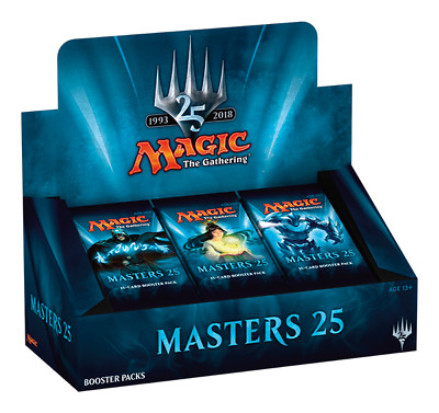 PREORDER MTG Magic the Gathering Masters 25 Booster Box SEALED SHIPS MARCH 15th!