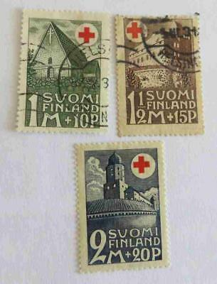 Finland 1931 Red Cross set