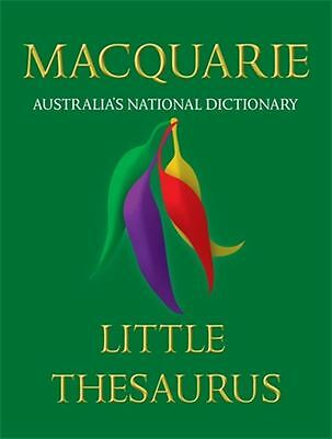 Macquarie Little Thesaurus by Macquarie Dictionary - Paperback - NEW - Book