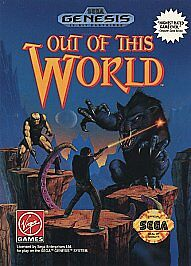 Out of This World (Sega Genesis, 1994) Game and box only*No manual