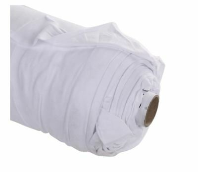 White Cotton Jersey Knit Fabric (150cm wide)