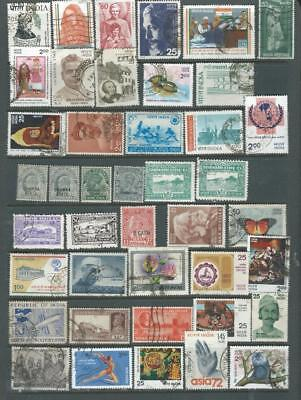 India & States  nice selection good range of stamps [2135]
