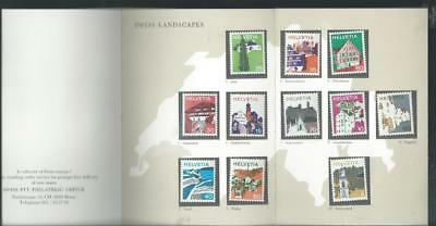 Switzerland mint stamps from PTT Landscapes & Folk Customs as per scan [2115]