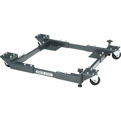 Shop Fox Adjustable Mobile Base Heavy-Duty D2057A Tools-Bases & Stands