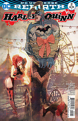 HARLEY QUINN #2, VARIANT, New, First Print, DC REBIRTH (2016)
