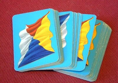 Lovely FULL SET of P & O full size playing cards c1950