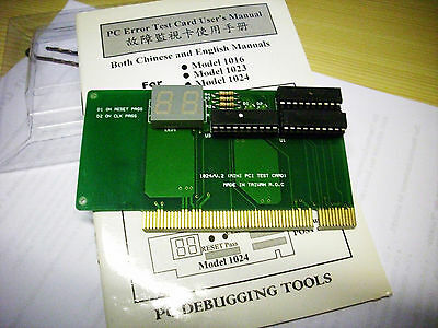 Dr.Bear PCI Error Diagnostic Testkarte Neu