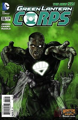GREEN LANTERN CORPS #35, MONSTERS OF THE MONTH VARIANT, New, DC NEW 52 (2015)