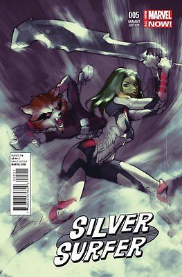 SILVER SURFER #5, GUARDIANS OF THE GALAXY VARIANT, New, Marvel Comics (2014)