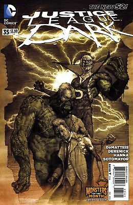 JUSTICE LEAGUE DARK #35, MONSTERS VARIANT, New, First print, DC New 52 (2015)