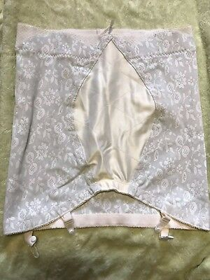 VINTAGE PLAYTEX 18 HOUR HIGH WAISTED OPEN GIRDLE 3XL 35''-36'' CORSET with zip