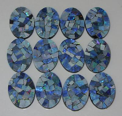 18x13mm Oval Natural Australia Opal Mosaic Doublet SPECIAL