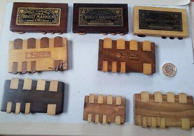 The Camden Whist markers  Goodall & Son London PallMall vintage Whist markers 8